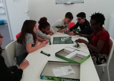English Scrabble with Dineo